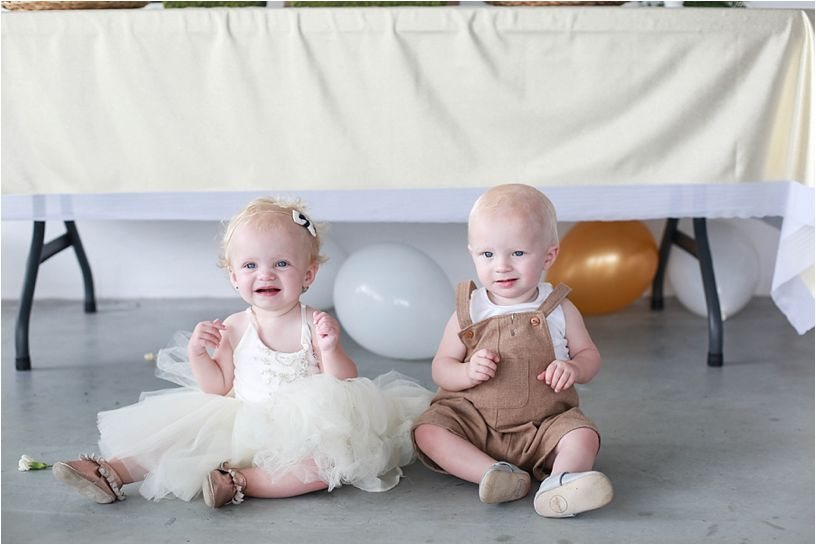 Cove and Meadow's First Birthday